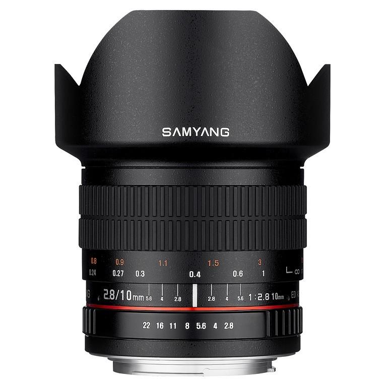 Obiektyw Samyang 10mm F2,8 Canon