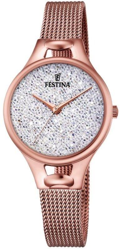 Zegarek Festina F20333-1 Mademoiselle Swarovski - CENA DO NEGOCJACJI - DOSTAWA DHL GRATIS, KUPUJ BEZ RYZYKA - 100 dni na zwrot, możliwość wygrawerowania dowolnego tekstu.