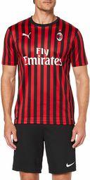 PUMA męska koszulka Ac Milan 1899 Home Shirt Repl. Top2 Player czerwony Tango Red/Puma Black S