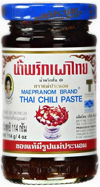 Pasta Nam Prik Pao, chili z krewetkami 114g - Mae Pranom