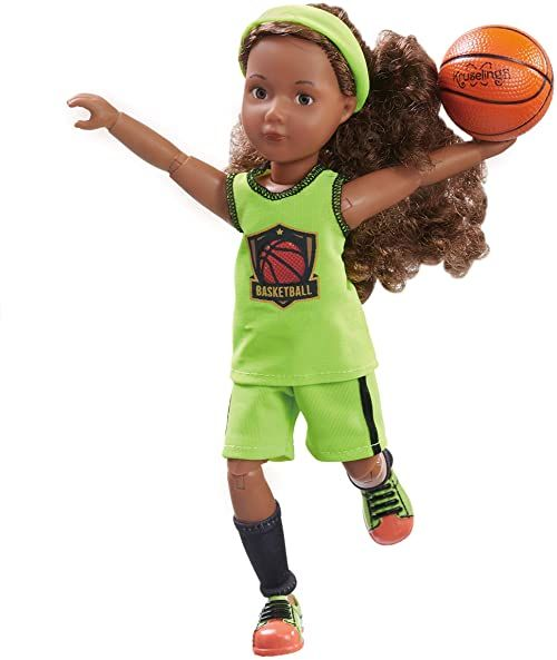 Käthe Kruse 0126849 Joy gracz do koszykówki, zielony