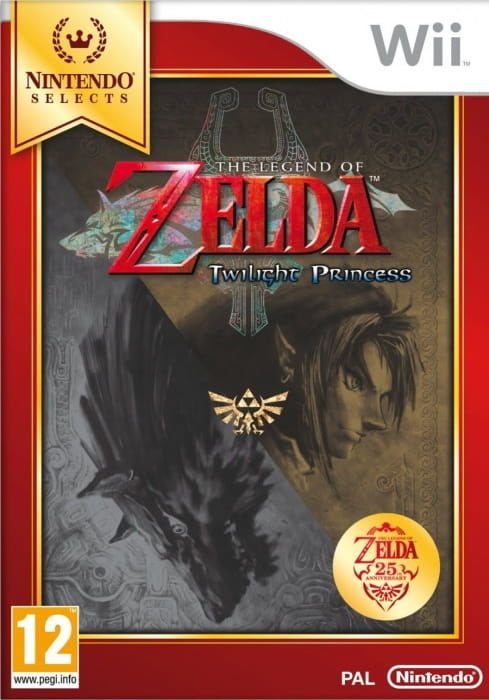 Gra The Legend of Zelda: Twilight Princess Selects (Nintendo Wii)