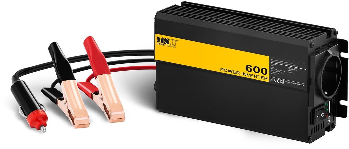 Przetwornica samochodowa - adapter do zapalniczki - 600 1200W - MSW - MSW-CPI600MS - 3 lata gwarancji/wysyłka w 24h