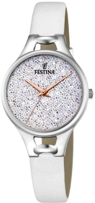 Zegarek Festina F20334-1 Mademoiselle Swarovski - CENA DO NEGOCJACJI - DOSTAWA DHL GRATIS, KUPUJ BEZ RYZYKA - 100 dni na zwrot, możliwość wygrawerowania dowolnego tekstu.