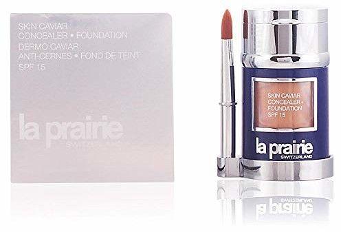 La Prairie Skin Caviar podkład i korektor SPF 15 odcień NW-50 Sunset Beige 30 ml