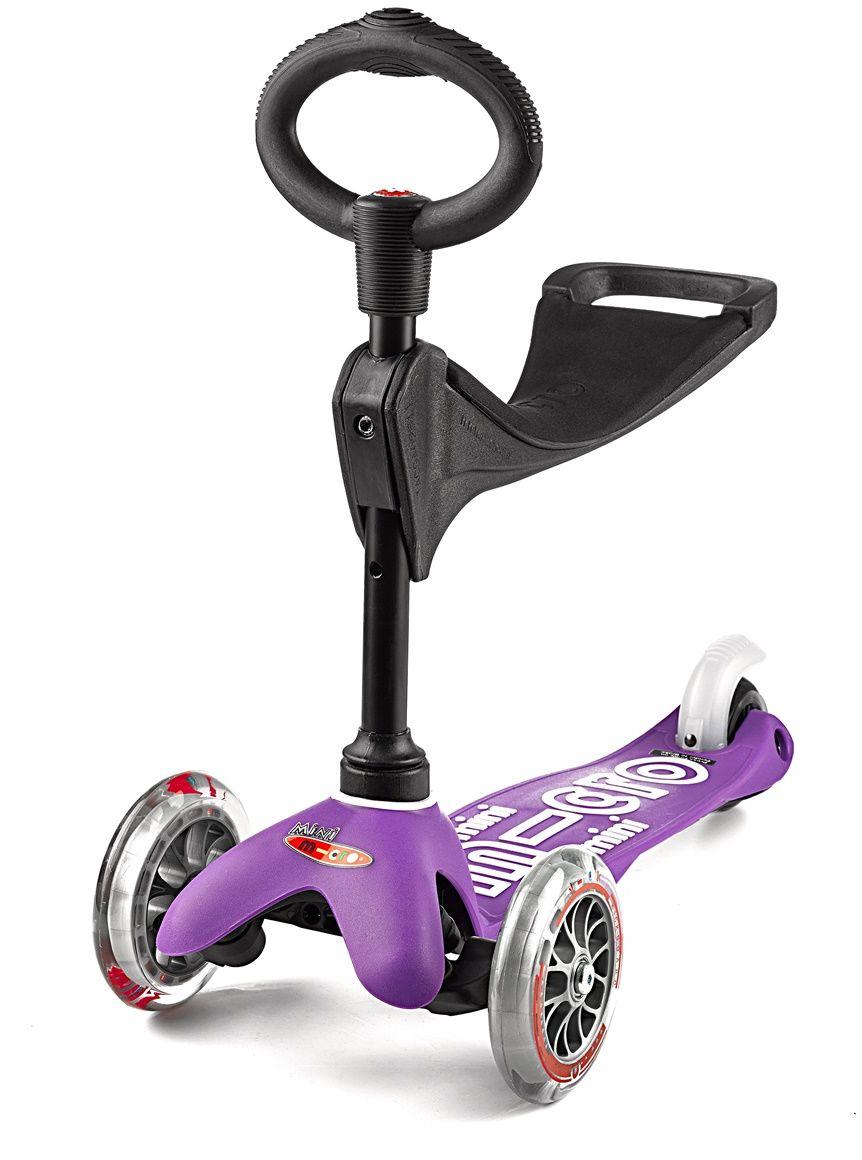 Mini Micro 3w1 Deluxe purple MMD012 jeździk hulajnoga 3 w 1