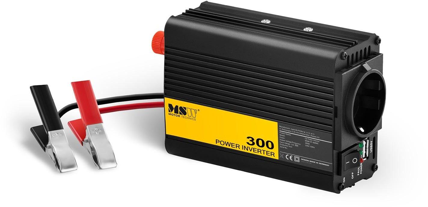 Przetwornica samochodowa - adapter do zapalniczki - 300 600W - MSW - MSW-CPI-300MS - 3 lata gwarancji/wysyłka w 24h
