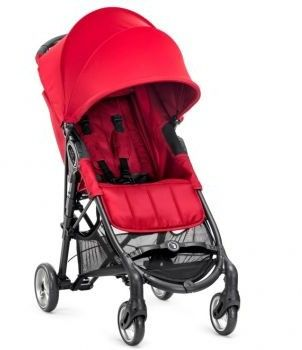 Baby Jogger City Mini Zipp wózek spacerowy red