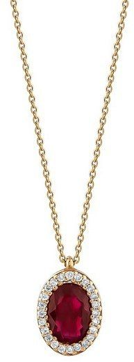 Złoty naszyjnik NZD6000R - Diament