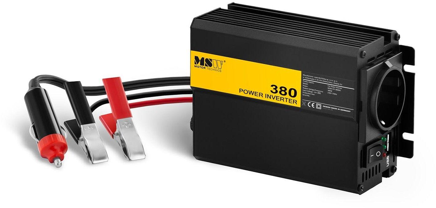 Przetwornica samochodowa - adapter do zapalniczki - 380 760W - MSW - MSW-CPI-380MS - 3 lata gwarancji/wysyłka w 24h
