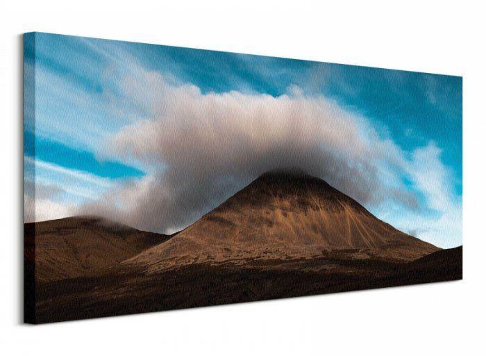 Kirkjufell - obraz na płótnie