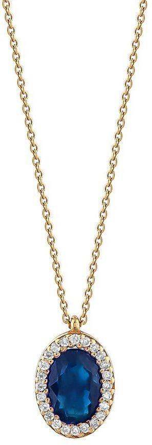 Złoty naszyjnik NZD6000S - Diament