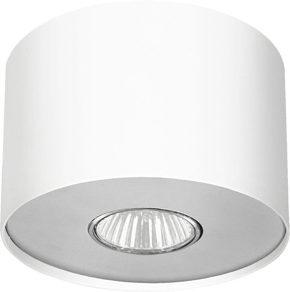 Plafon Point S 6000 Nowodvorski Lighting biała lampa z wymiennym pierścieniem