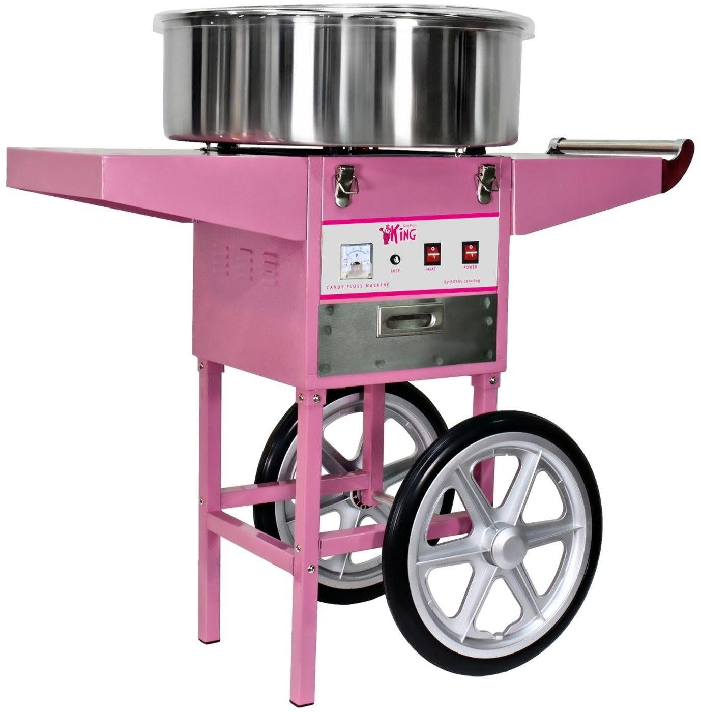 Maszyna do waty cukrowej Royal Catering RCZC-1200-W - RCZC-1200-W - 3 LATA GWARANCJI / WYSYŁKA W 24H ZA 0 ZŁ!