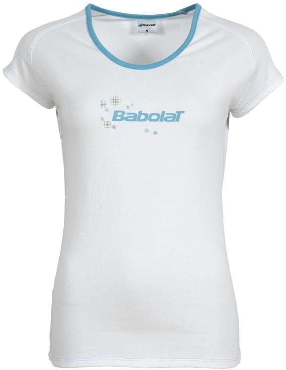 Babolat T-Shirt Core Girl - white