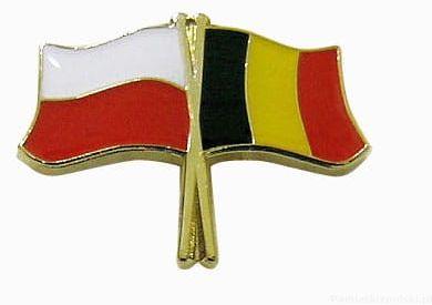 Flaga Polska - Belgia