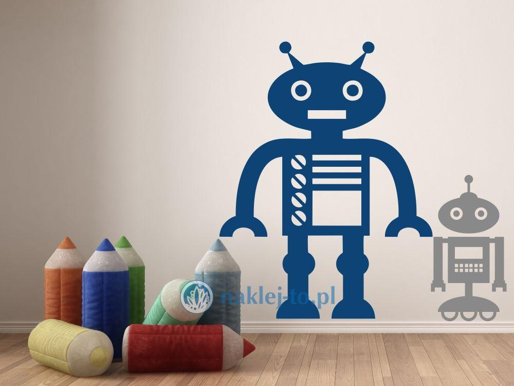 naklejka Robot 4 robotyka