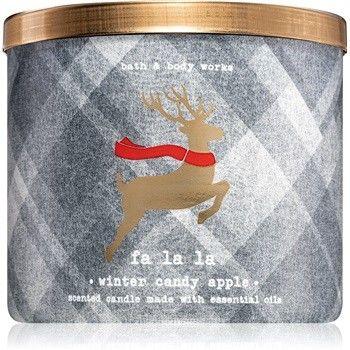 Bath & Body Works Winter Candy Apple świeczka zapachowa 411 g