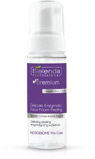 Bielenda MICROBIOME Pro Care Delikatny Peeling Enzymatyczny W Piance, 160ml