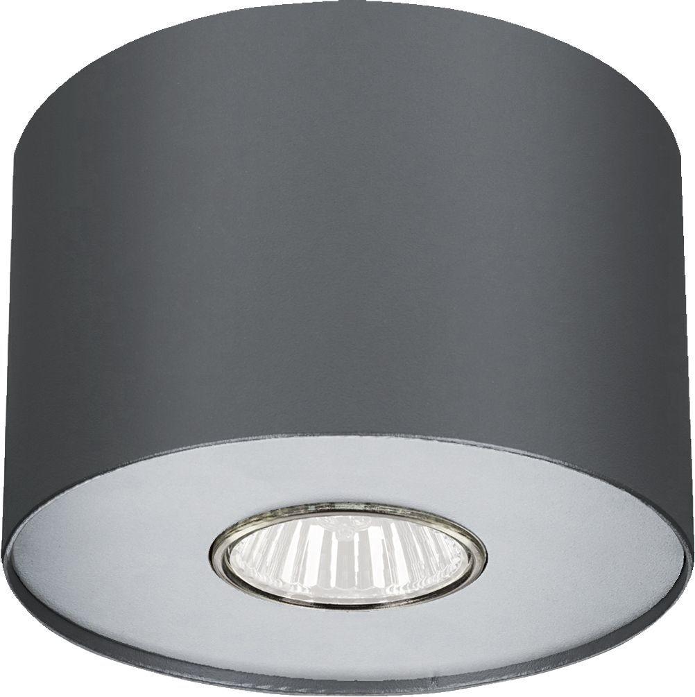 Plafon Point S 6006 Nowodvorski Lighting grafitowa lampa z wymiennym pierścieniem