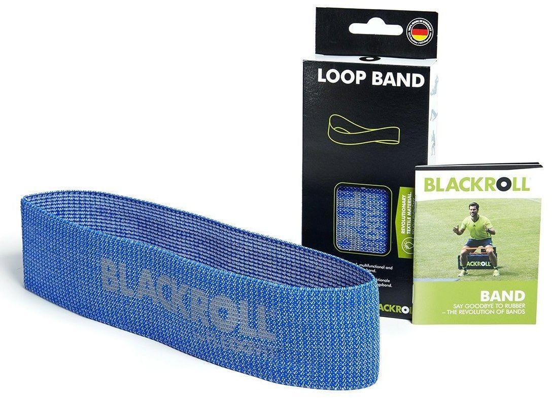 Taśma mocna LOOP BAND 30 cm BLACKROLL (niebieska)