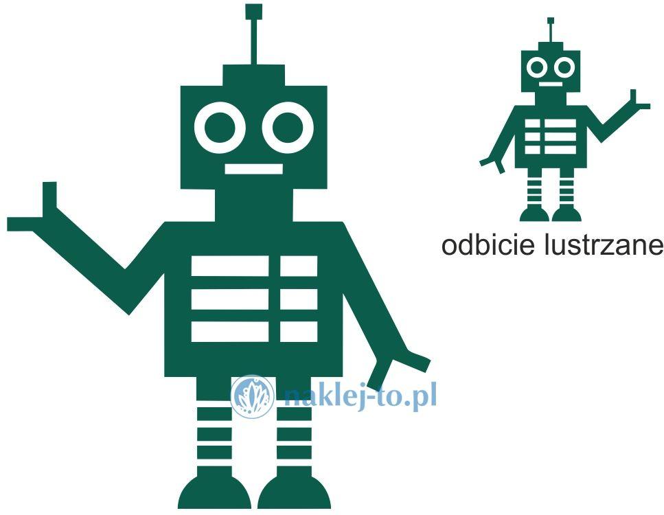 naklejka Robot 5 robotyka