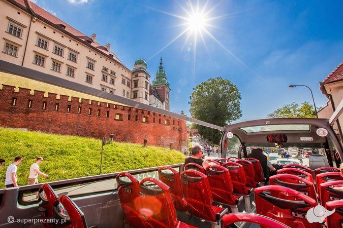 Zwiedzanie Krakowa autobusem cabrio