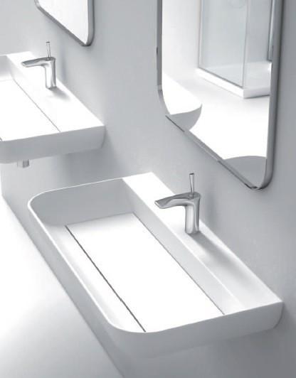 Marmorin umywalka Dione bez otworu 70 cm biała 505070020010 __DARMOWA DOSTAWA__