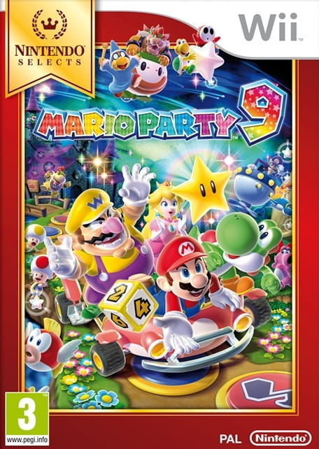 Gra Mario Party 9 Nintendo Selects (Nintendo Wii)