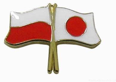 Flaga Polska - Japonia