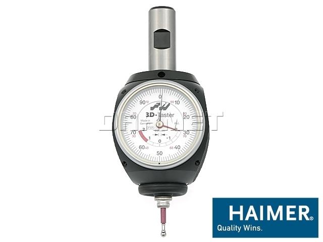 Czujnik 3D uniwersalny zegarowy IP67 chwyt fi 20 mm - Haimer (80.360.00.FHN)