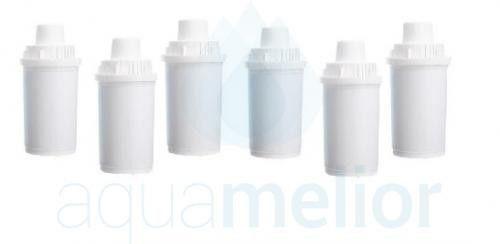 Aquaphor B100-15 filtry wody do dzbanków STANDARD Classic 6 sztuk