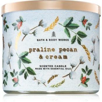 Bath & Body Works Praline Pecan & Cream świeczka zapachowa 411 g