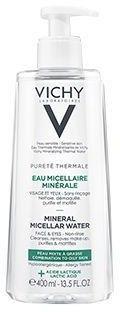 Vichy Purete Thermale Mineralny Płyn Micelarny dla skóry mieszanej i tłustej 400ml