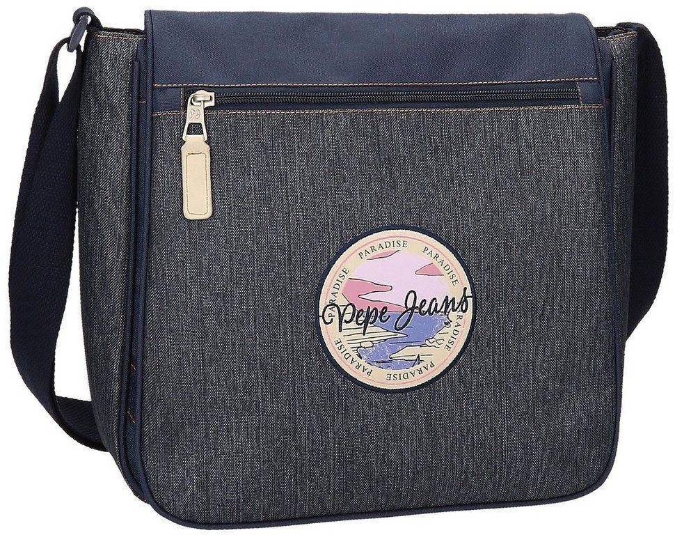 """Pepe Jeans Yelena torba na laptopa niebieska 30x32x10 cm poliester 13,3"""""""