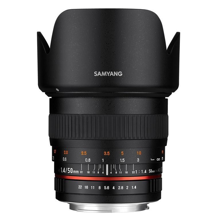 Obiektyw Samyang 50mm f/1,4 AS UMC Sony