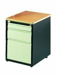 Kontenerek szafka przybiurkowa SZP 403 3 szuflady na klucz H 62cm