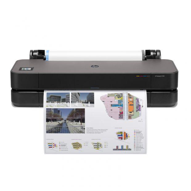 Ploter HP DesignJet T250 (610 mm) 315zł zwrotu od HP + 50m papieru GRATIS - GOLD PARTNER HP (5HB06A)
