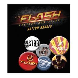 Flash - zestaw przypinek