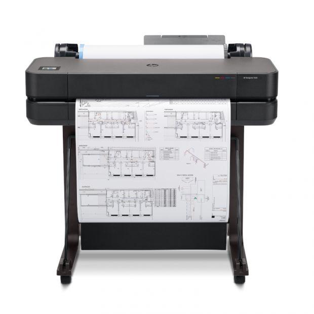 Ploter HP DesignJet T630 (610 mm) + 50m papieru GRATIS - GOLD PARTNER HP (5HB09A)
