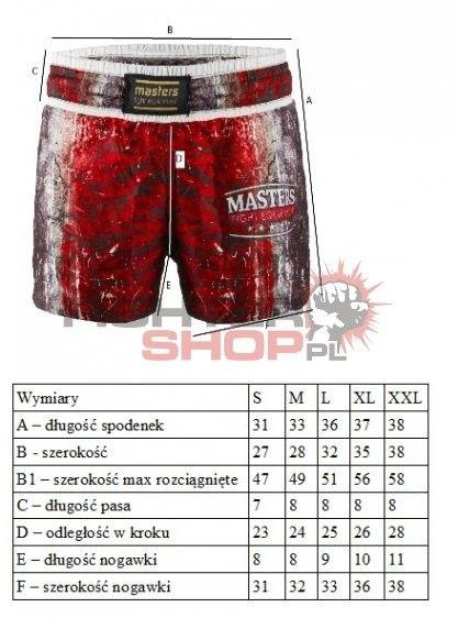 Spodenki SK1-MFE Masters