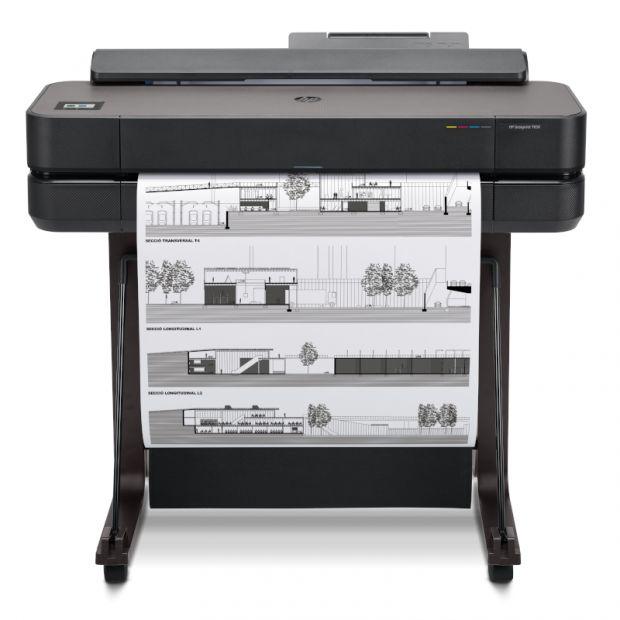 Ploter HP DesignJet T650 (610 mm) 90zł zwrotu od HP + 50m papieru GRATIS - GOLD PARTNER HP (5HB08A)