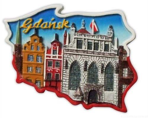 Magnes kontur Gdańsk Dwór Artusa