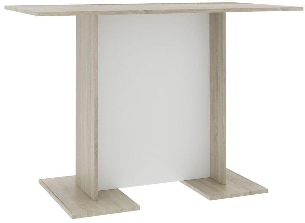 Biało-dębowy klasyczny stół - Rivers