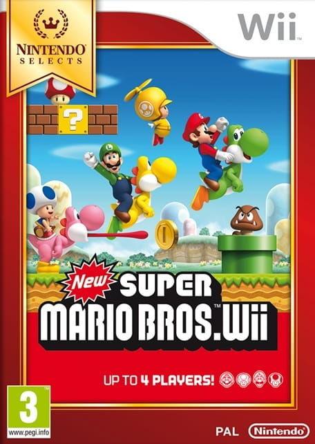 Gra New Super Mario Bros. Wii Nintendo Selects (Nintendo Wii)