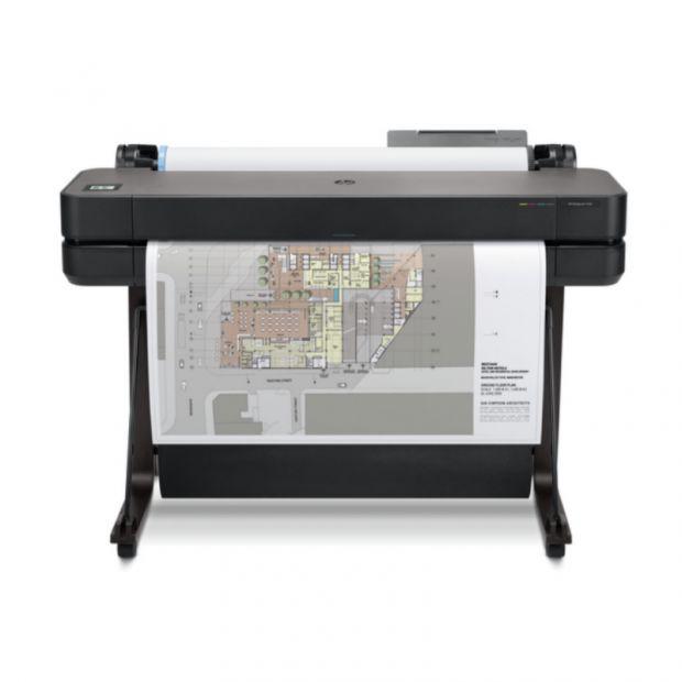 Ploter HP DesignJet T650 (914 mm) 1400zł zwrotu od HP +100m papieru GRATIS - GOLD PARTNER HP (5HB10A)