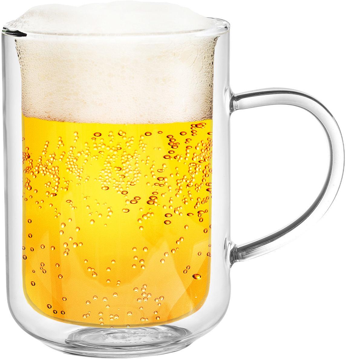 4Home Szklanka termiczna Beer classic Hot&Cool 550 ml, 1 szt.