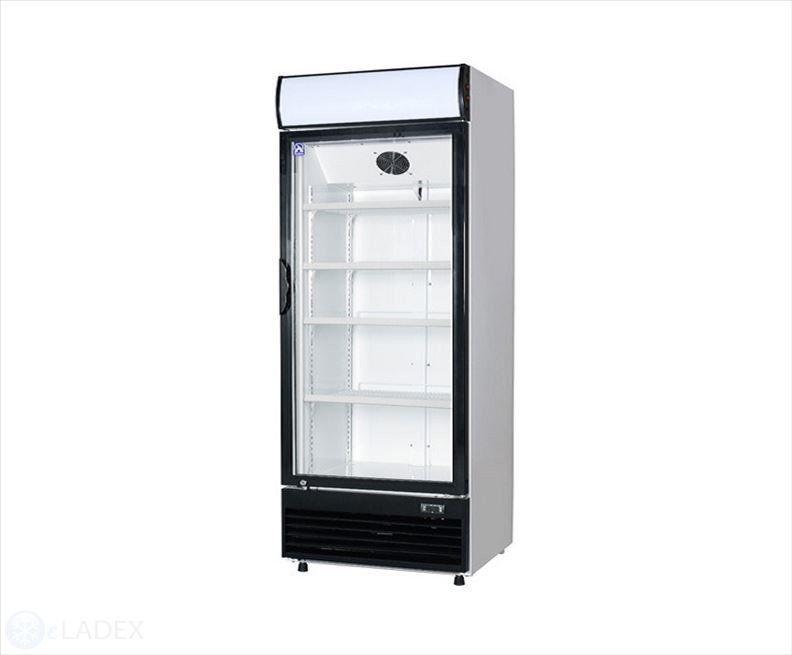 Szafa chłodnicza LG 660 BFM CEBEA przeszklona - 660 l