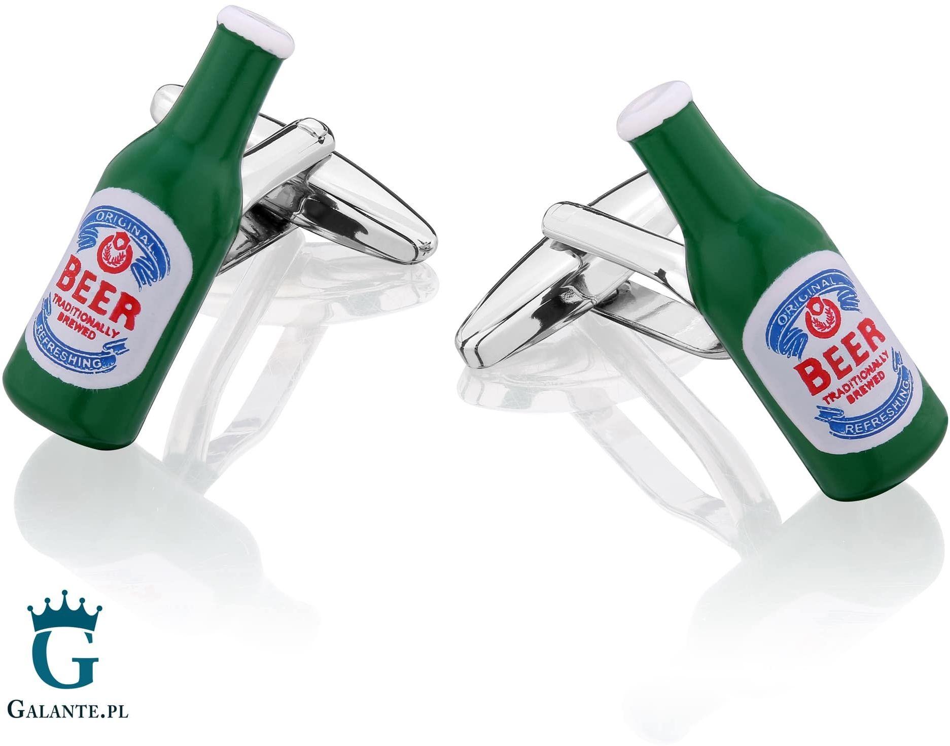 Spinki do mankietów butelka piwa sd-1500