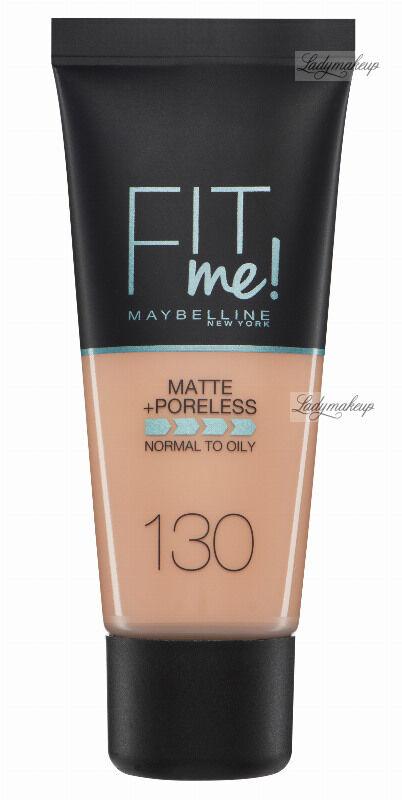 MAYBELLINE - FIT ME! Liquid Foundation For Normal To Oily Skin With Clay - Podkład matujący do twarzy z glinką - 130 BUFF BEIGE